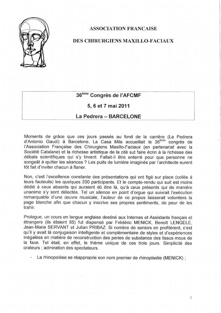 2011_Barcelone_Rapport