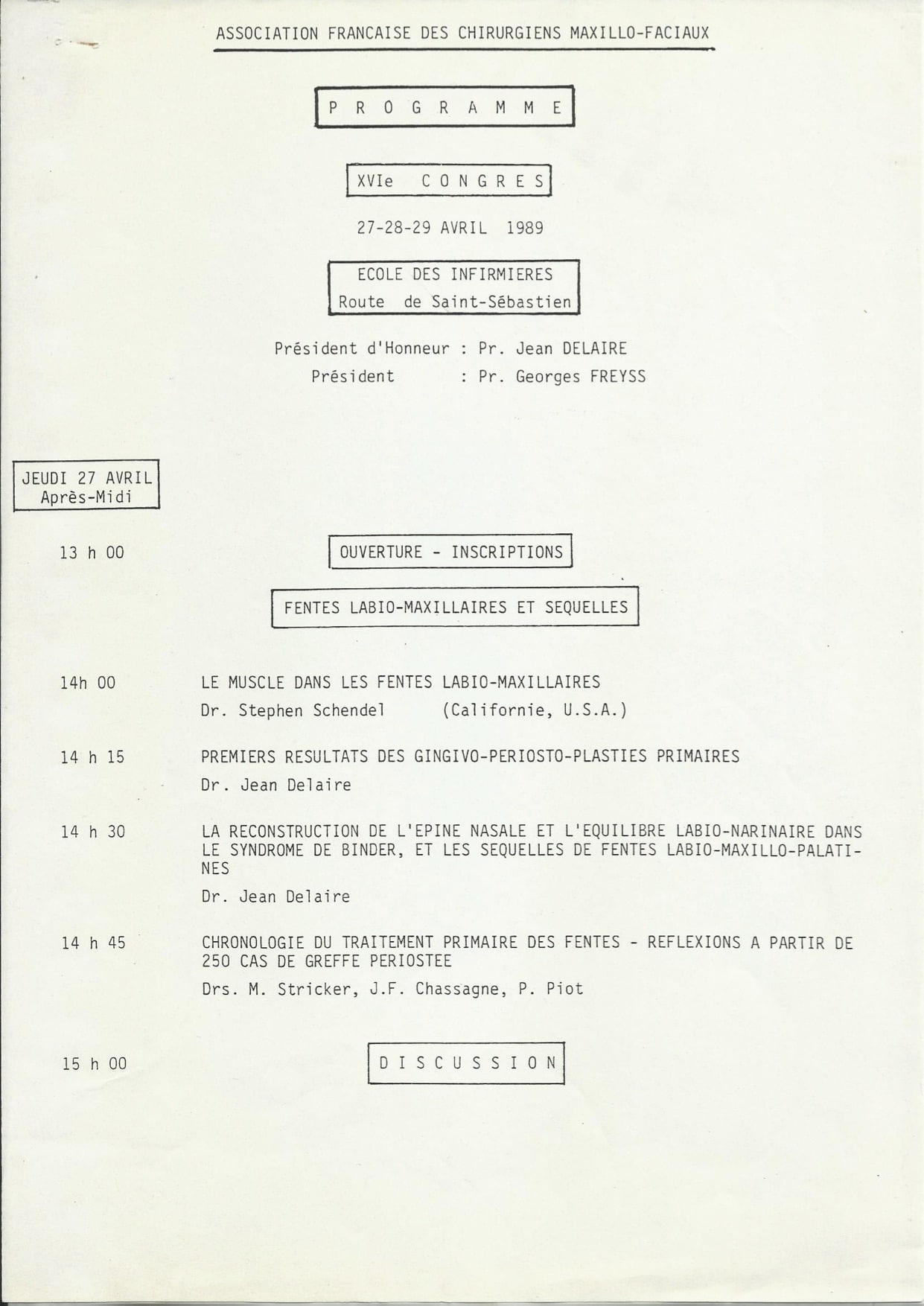 AFCF 1989